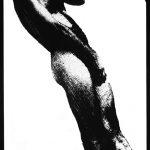 Ammar Bouras. Une autorisation pour s'aimer 17. Tirage unique sur papier photo N&b (A3) en planche contact