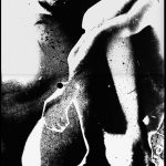 Ammar Bouras. Une autorisation pour s'aimer 6. Tirage unique sur papier photo N&b (A3) en planche contact