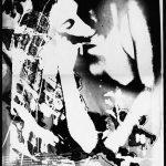 Ammar Bouras. Une autorisation pour s'aimer 9. Tirage unique sur papier photo N&b (A3) en planche contact