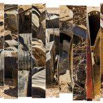 Ammar Bouras. 24°3′55″N 5°3′23″E #2 Editions: Grande (5) : 140x53CM Moyenne (7) : 70x26,5CM
