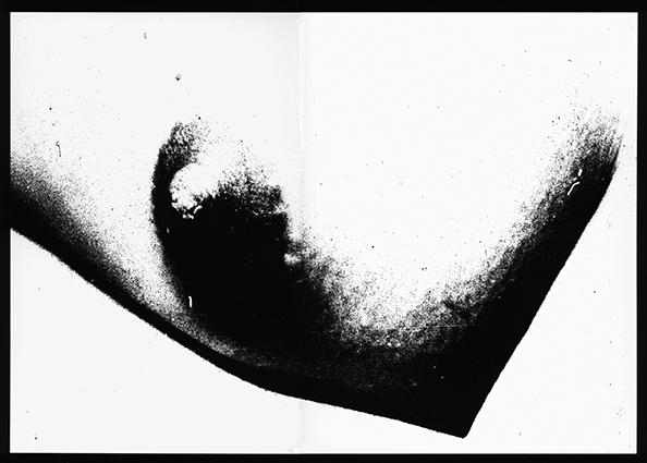 Ammar Bouras. Une autorisation pour s'aimer 12. Tirage unique sur papier photo N&b (A3) en planche contact