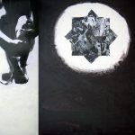 Ammar Bouras. Les 1001 nuits, autrement dit... cyberchahrazed3, 170x150 cm, TM sur bois, 2006