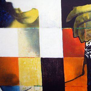 Dounyazed, 180x90 cm, TM sur toile, 2002/2006